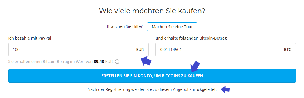 Paxful Bitcoins kaufen